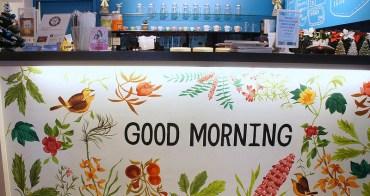 [新莊早午餐 Good morning caf'e 咖啡輕食]繽紛彩繪牆 好吃的蛋沙拉豬排堡 不限時早午餐店 鄰近新莊體育館