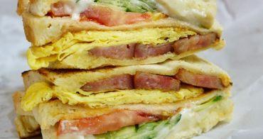 基隆廟口夜市美食 碳烤三明治 鄰近豆花三兄弟