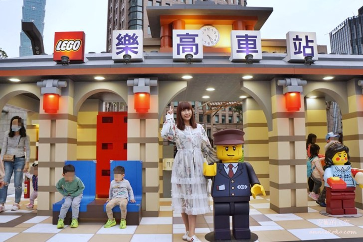 20190119182257 86 - 巨大版樂高車站出現在台北  還有樂高電影院 樂高新年城等你一起來圍爐 統一時代百貨二樓