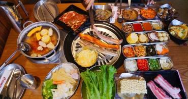 [ 阿豬媽韓式烤肉x火鍋吃到飽] 西門町美食推薦   韓式烤肉火鍋雙享受