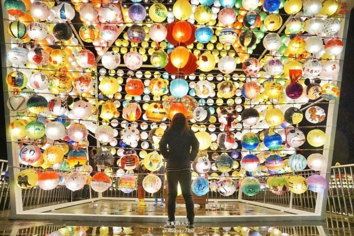 20200127105317 9 - 全台最大天燈在三峽 [ 2020台北走春景點]  三峽廣行宮關聖帝君廟 巨大燈籠牆閃亮一整個春節