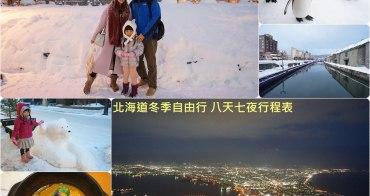 【北海道自由行】住宿 交通 景點 美食 攻略 ♥ 冬季賞雪泡湯 八天七夜行程表