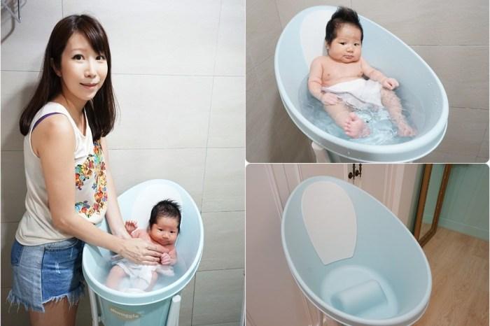 【育兒好物】嬰兒浴盆推薦 ♥ 英國Shnuggle月亮澡盆 新手爸媽洗寶寶神器