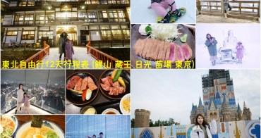 【日本】東北自由行 行程景點推薦♥銀山+藏王+日光+苗場+東京 12天行程表
