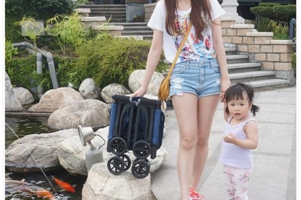 [育兒好物] 讓我輕鬆拎著小人一起出遊去 ♥ 可裝進行李箱的嬰兒推車。魔幻旅行 POCKIT 口袋車