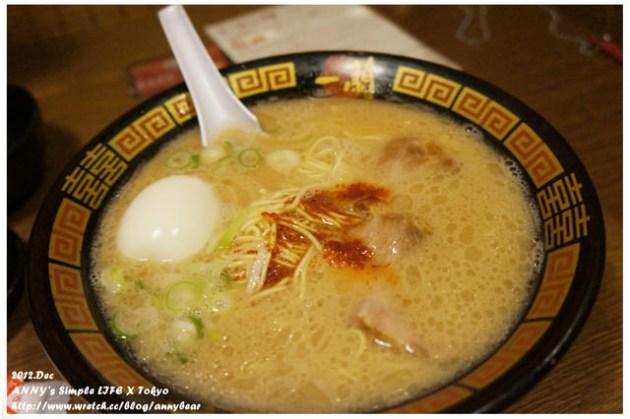 【東京美食】東京必吃拉麵 ♥ 六本木一蘭拉麵