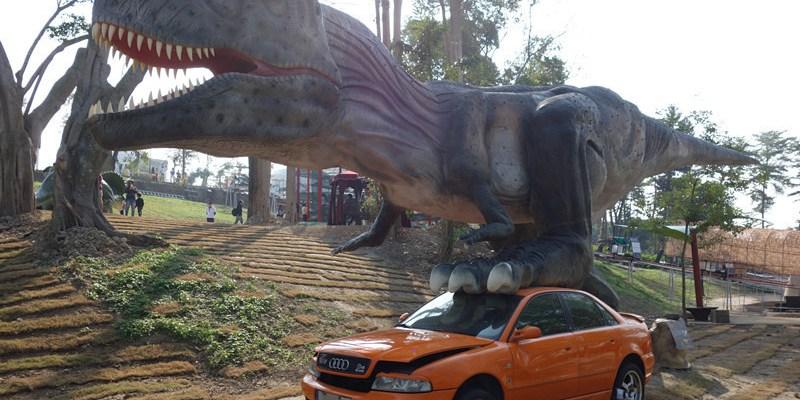 彰化員林百果山探索樂園 | 全台第一會動的恐龍樂園,大人小孩都愛的恐龍來囉!