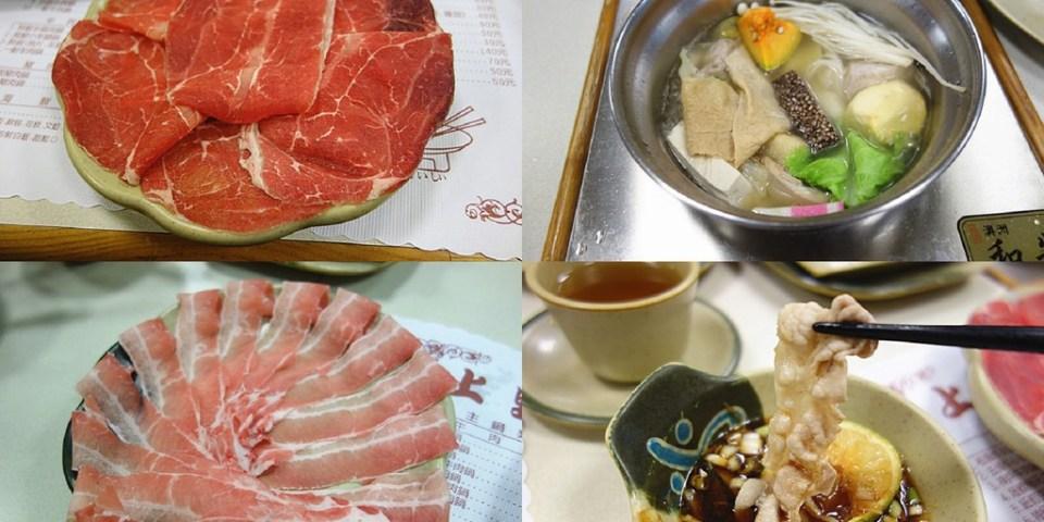 【彰化員林】上野屋日式涮涮鍋;員林半隱藏版涮涮鍋,熟人介紹才會知道的清爽美味火鍋!特製沾醬超特別。