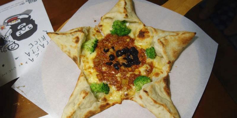 【員林】Pizza factory披薩工廠;員林舊合作金庫,懷舊巴洛克式建築裡面吃披薩!?不存錢來吃美食!