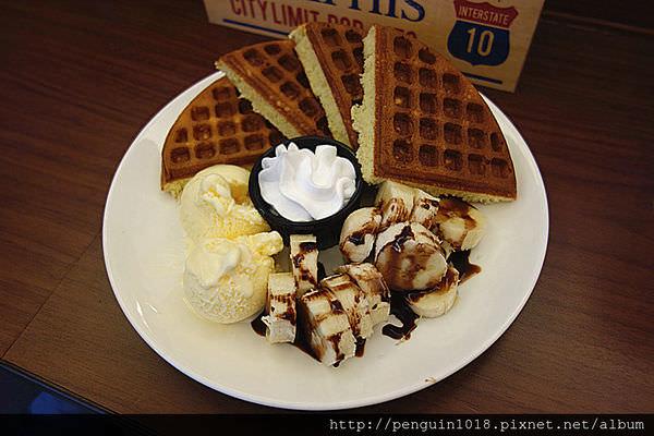【台中】428café;台中科博館前,實惠且CP值高的厚鬆餅!