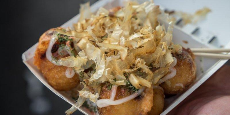 台鄉味米製酥脆章魚燒 | 虎尾特色脆皮章魚燒,用料紮實章魚超大塊,外脆內Q軟,獨門章魚燒就在這。