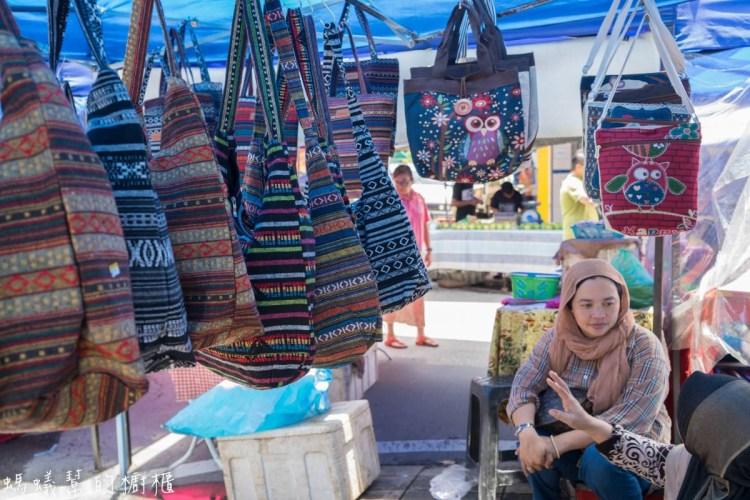 沙巴亞庇加雅街市集、悦昌茶室 | 沙巴旅遊推薦,星期日限定市集,加碼加雅街附近超好吃裡無名沙嗲串。