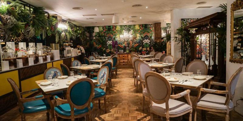 Woo Taiwan 員林店(歇業) | 員林泰國餐廳,來自清邁的異國風情,在叢林植物裡享受浪漫用餐氛圍。