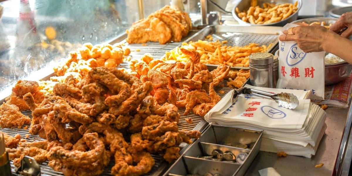 鹿港馨雞財 | 鹿港炸雞,在地人推薦鹿港人下午茶就是這古早味炸雞。