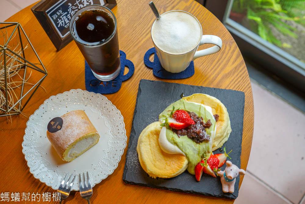 無窮想想飲。木耳露。甜點   員林舒芙蕾鬆餅、咖啡飲品,老屋改建甜點咖啡館。