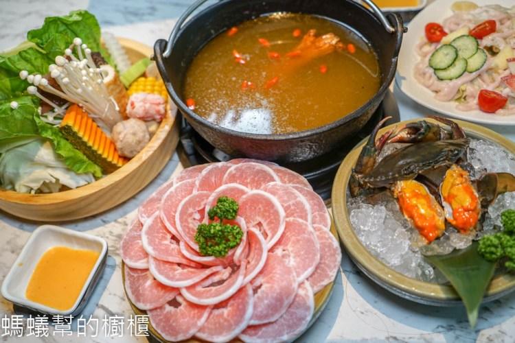 台中源鍋精緻鍋物(名人鍋) | 台中海鮮鍋物推薦,公益路美食,霸氣雙人海鮮船,特色麻油螃蟹鍋,回味無窮。
