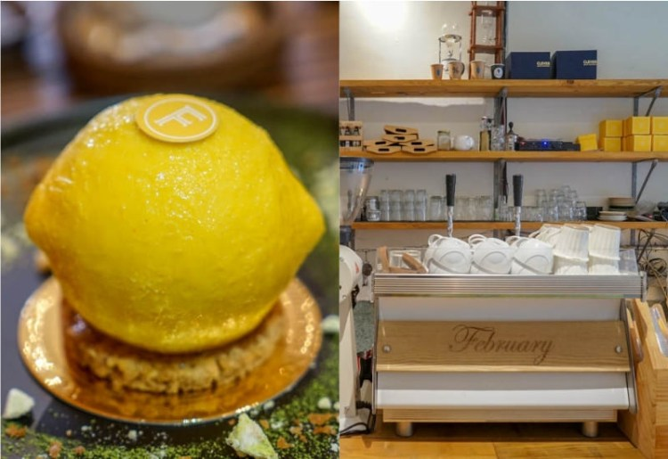 虎尾貳月February Drink&Food | 虎尾甜點店,特色手做甜點,老屋改建增添韻味。