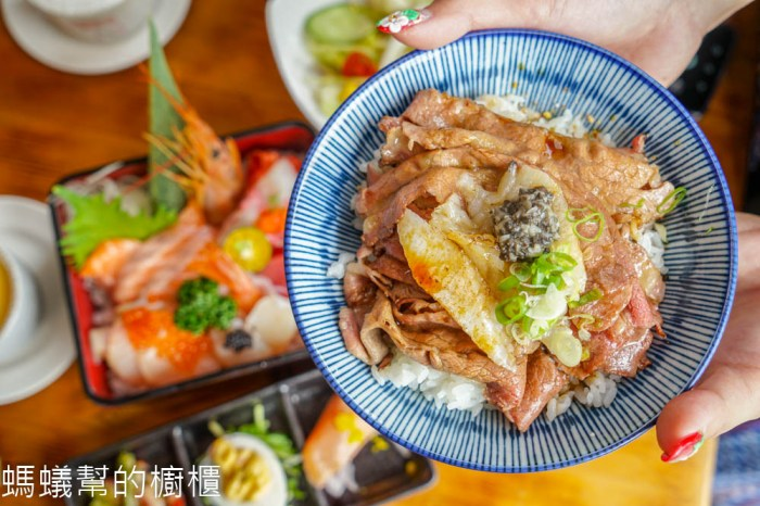 台中大里海饕丼飯專賣店 | 炙燒比目魚鮨邊嫩牛丼、極上海饕丼,滿意又平價丼飯,台中日本料理推薦。
