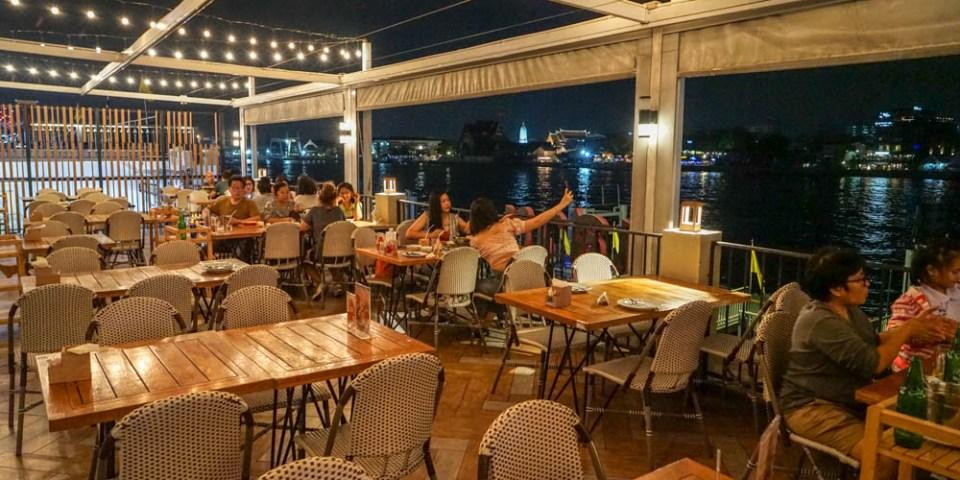 Savoey Thai Restaurant曼谷昭披耶河岸夜景餐廳 | 泰國40年品牌餐廳,Tha Maharaj瑪哈拉碼頭文青市集美食。