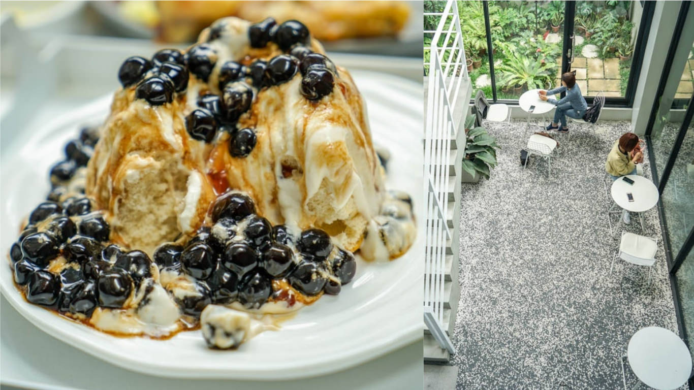 有片森林Coffee/Curry | 彰化員林網美咖啡館,特色戚風蛋糕,另有提供早午餐。