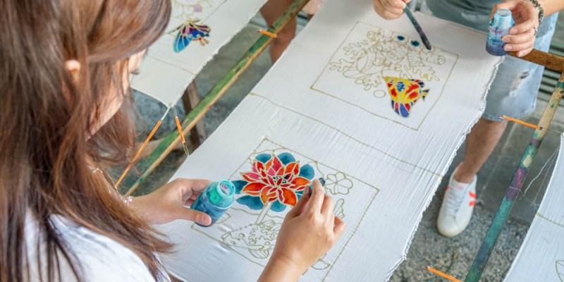 craft batik penang   檳城手工蠟染體驗,來趟檳城傳統工藝之旅。
