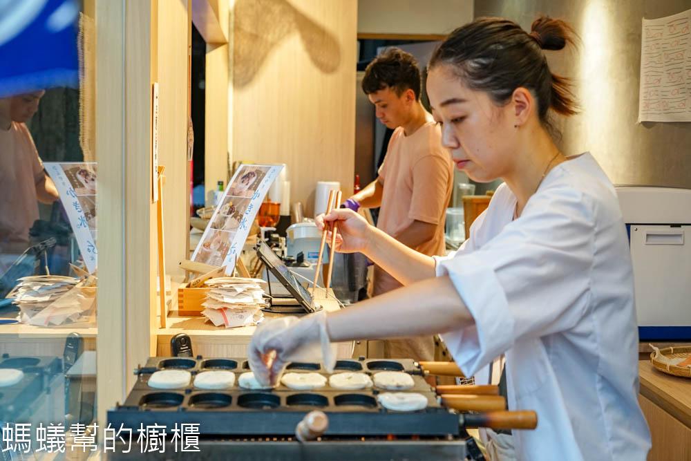 米弎豆Misato小判餅   鹿港老街散步點心,日本老闆娘經營的小攤子,金幣造型皮薄餡多。