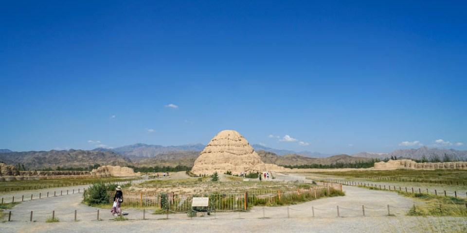 西夏博物館   寧夏銀川旅遊推薦,神秘西夏王朝党項族,一解西夏歷史之謎。