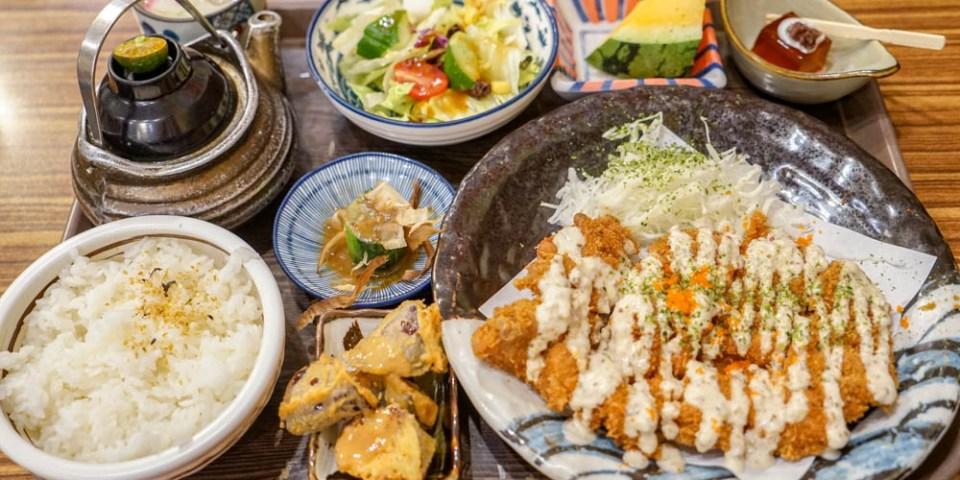 狐狸工頭   彰化市日式定食,人氣日式定食店,特色豬排定食系列,假日常常需要排隊。