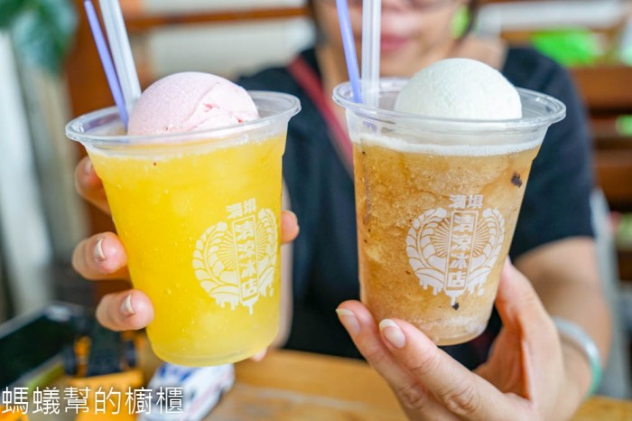斗六溝仔垻清涼冰店   斗六排隊冰店,50年以上老店,雪泥加冰淇淋單球,好吃又好拍。