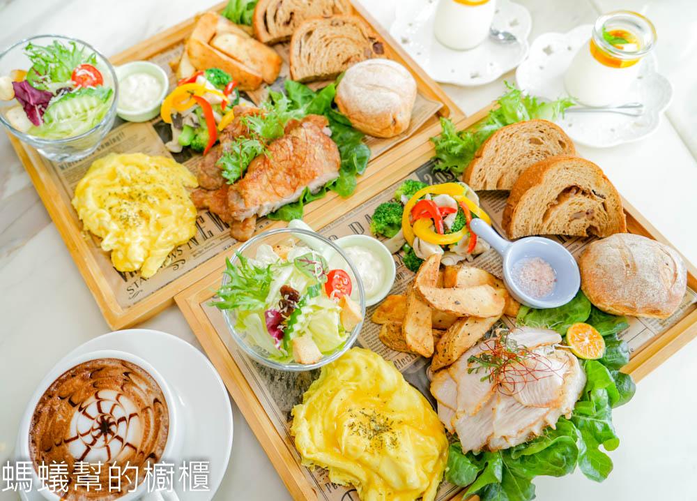 心之屋食飲空間 | 員林聚餐推薦,木盤早午餐,吸睛度百分百!餐點美味豐富環境採光佳。
