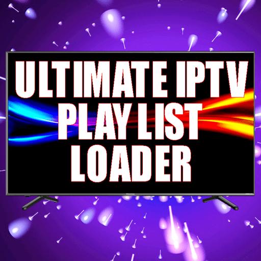 Ultimate IPTV Playlist Loader 4.50 icon