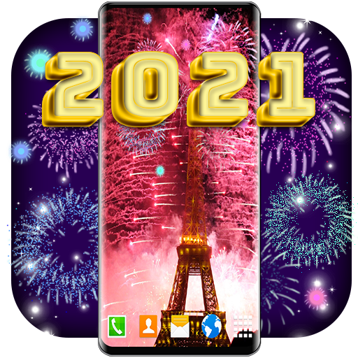 New Years Eve Live Wallpaper 🎇 2021 Wallpapers 6.7.3 icon