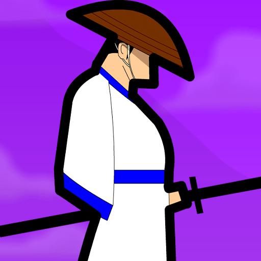 Straw Hat Samurai: Free Slasher Game 1.0.1 icon
