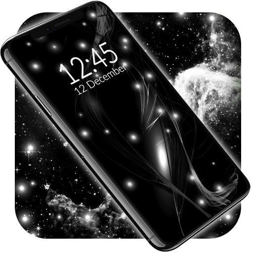 Black Live Wallpaper ⭐ Dark Mode Wallpapers Themes 6.7.3 icon