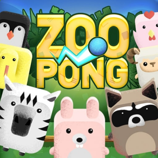 Zoo Pong: The Animals Competition 9.8 icon