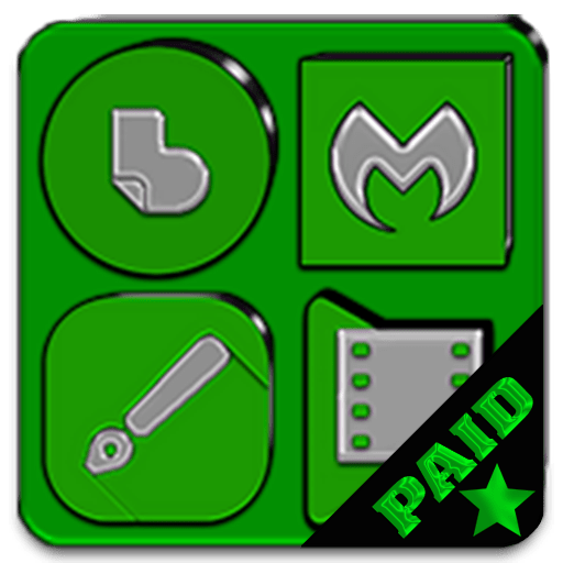 Green Icon Pack Paid 1.9 icon
