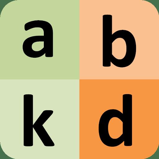 Filipino alphabet for university students 8 icon