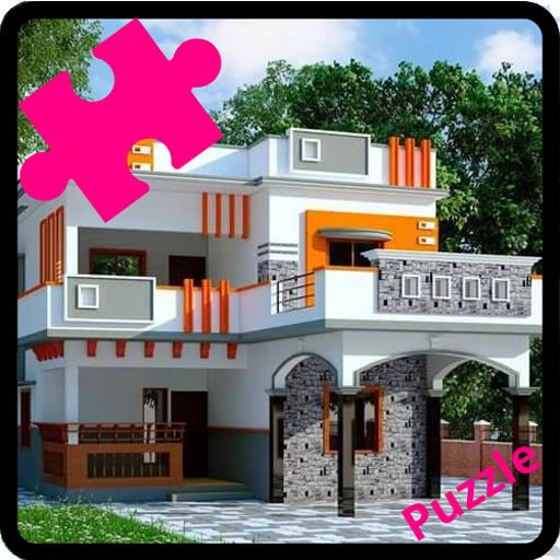 Dream Home Puzzle Jigsaw (Rompecabezas de casas) 14 icon