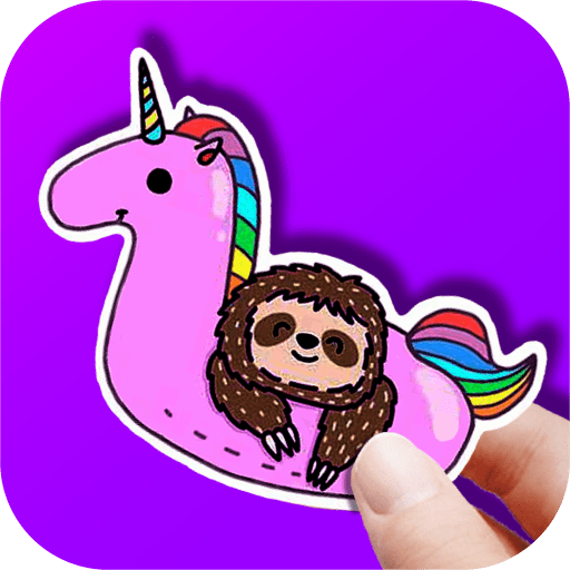 How to make cute stickers 3.5 icon