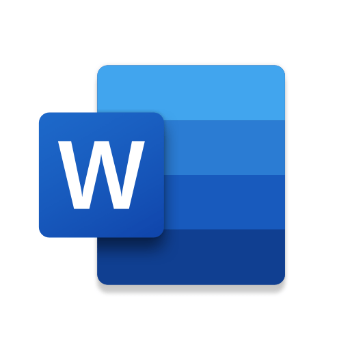 Microsoft Word: Write and edit docs on the go 16.0.13029.20182 icon
