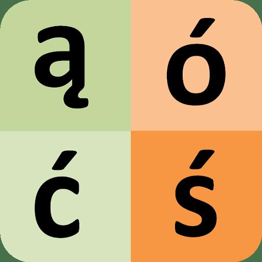 Polish alphabet for students 21 icon