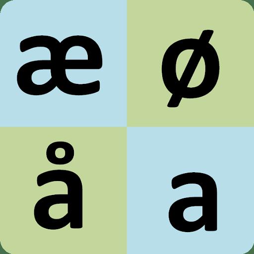 Norwegian alphabet for old people 21 icon