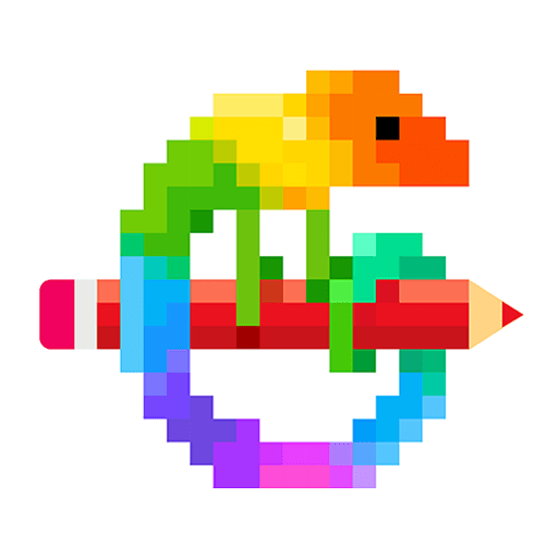 Pixel Art: Colour by Numbers Colouring Games 6.5.0c icon