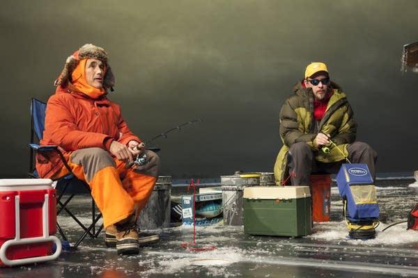 Jim Lichtscheidl, Mark Rylance in 'Nice Fish'