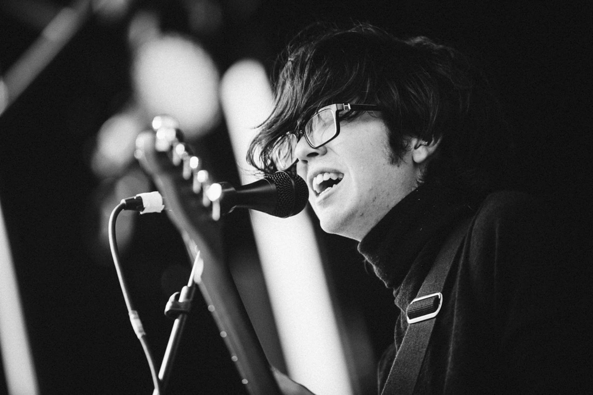 Car Seat Headrest s Rock the Garden set will make you sweat   The     Will Toledo of Car Seat Headrest