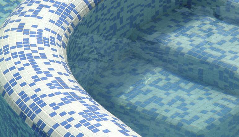 Sauna mosaic tile - 2578-B - EZARRI - pool / wall / floor
