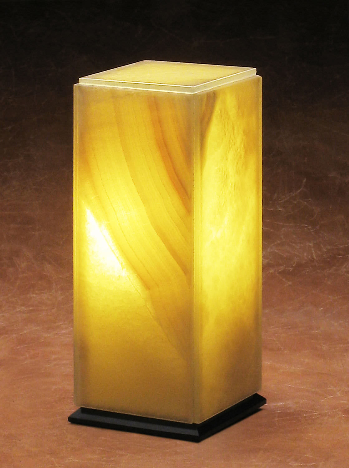table lamp translucent marble