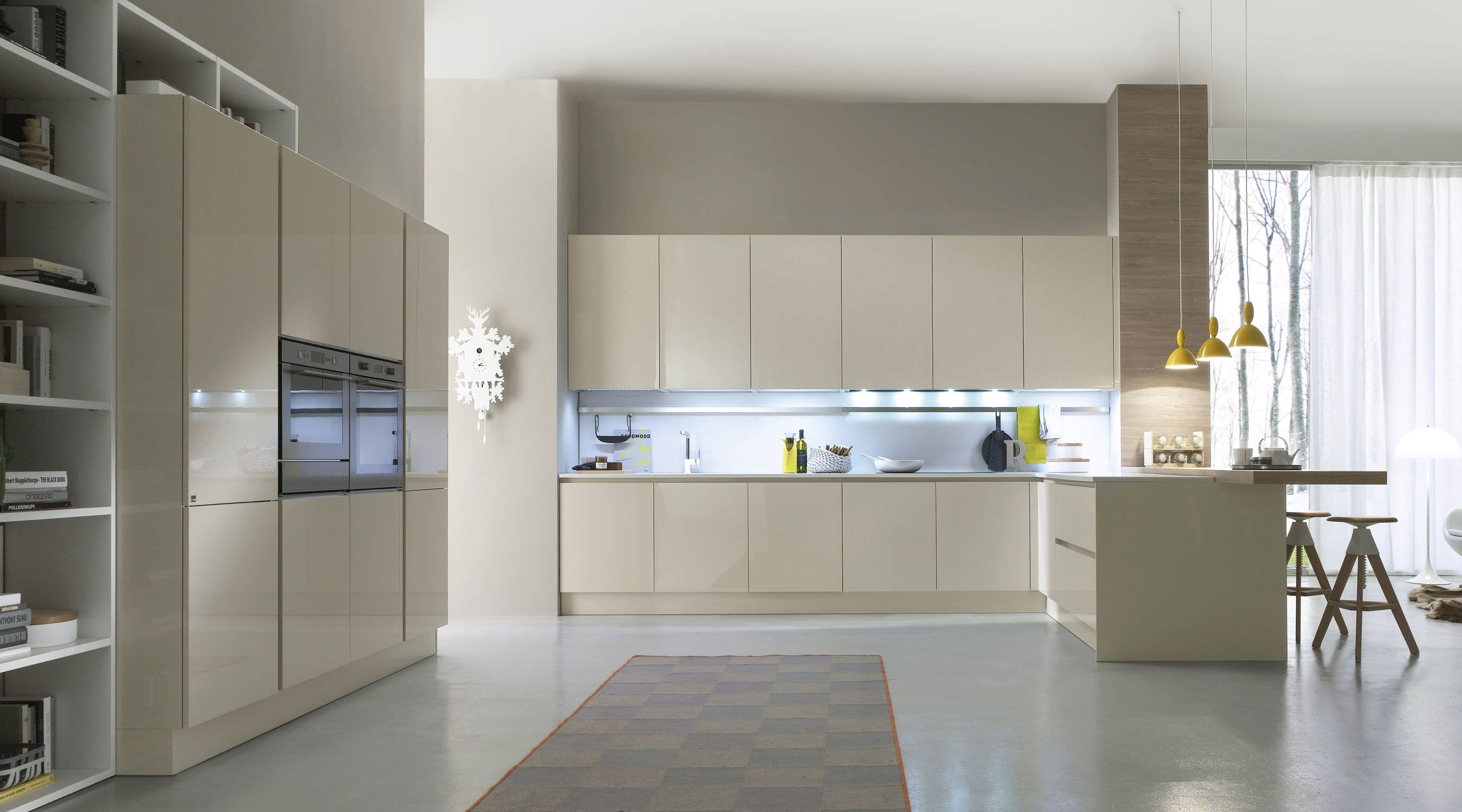 Contemporary Gloss Kitchen Cabinets Zion Star