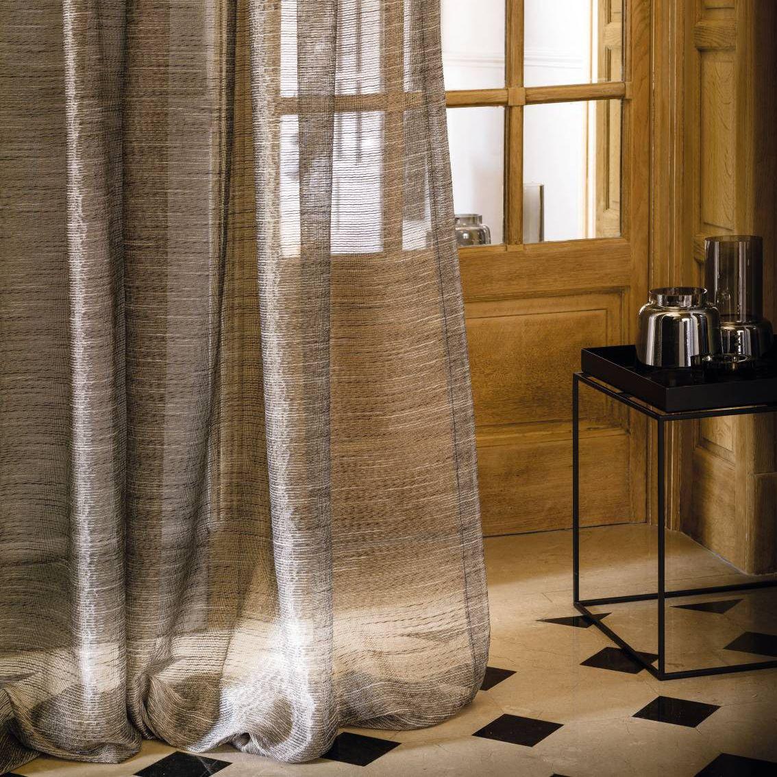 plain sheer curtain fabric galliera