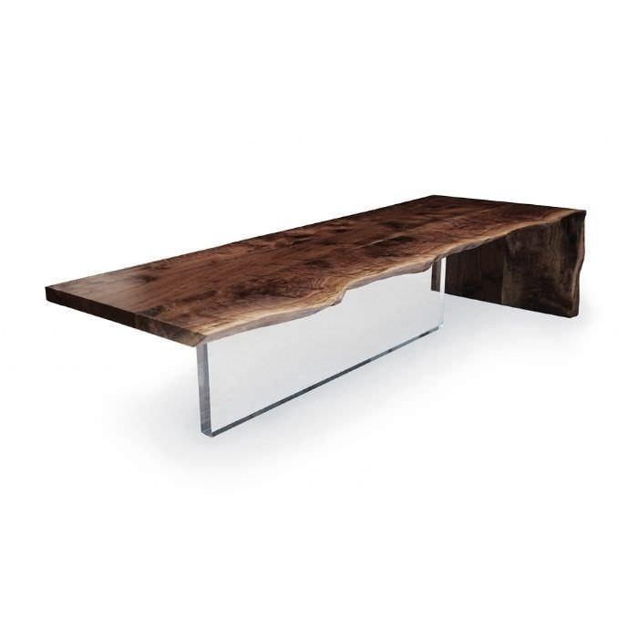 contemporary coffee table plexi